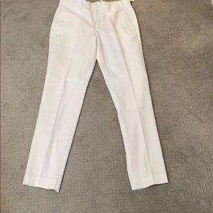 Perry Ellis travel lux linen pants slim fit